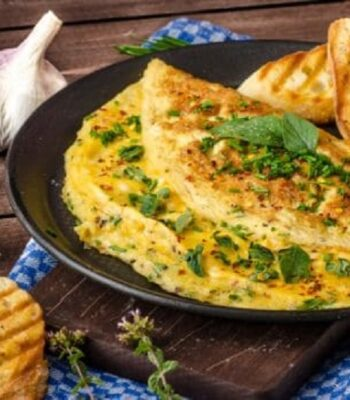 omleta cascaval