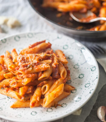 penne milanese